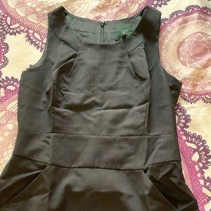 JCrew Black Suiting Dress